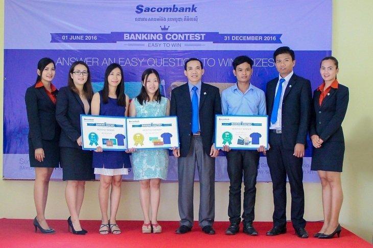 កម្មវិធី Banking Contest – Easy to Win