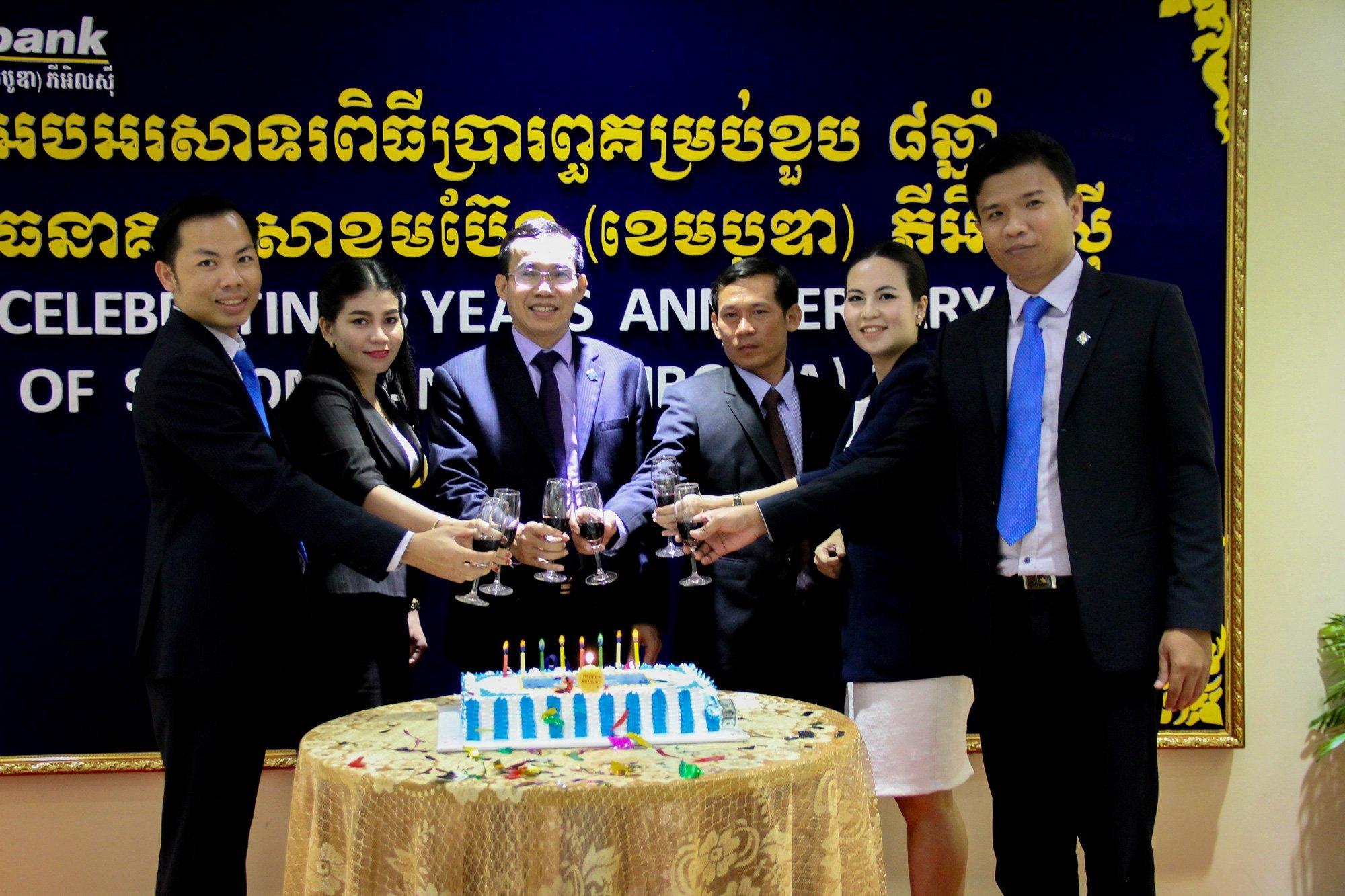 Sacombank Cambodia celebrate 8 Years Anniversary