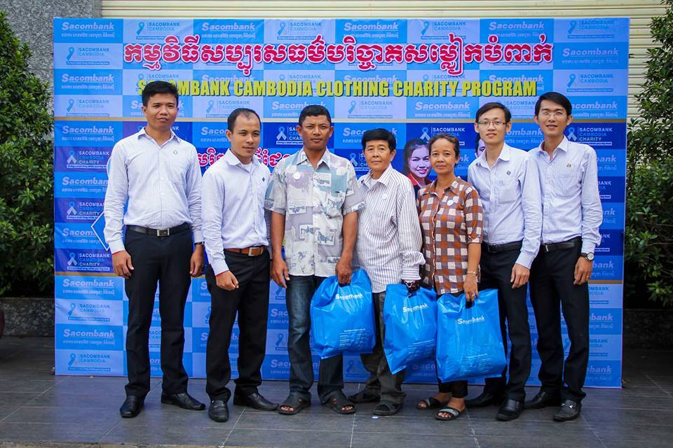 Sacombank Charity Program Give what you have, take what you need